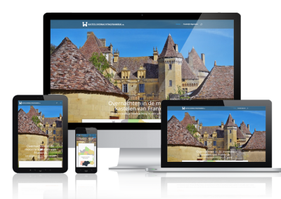 RESPONSIVE WEBSITE KASTEELOVERNACHTINGEN